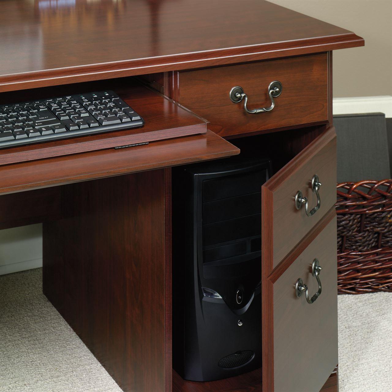 cherry custom home office desk. 99+ Sauder Heritage Hill Executive Desk Classic Cherry - Custom Home Office Furniture Check More F