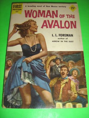 WOMEN OF THE AVALON ~ BY L.L. FOREMAN ~ DELL 1955 PBO