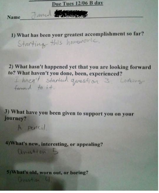 Get homework answers