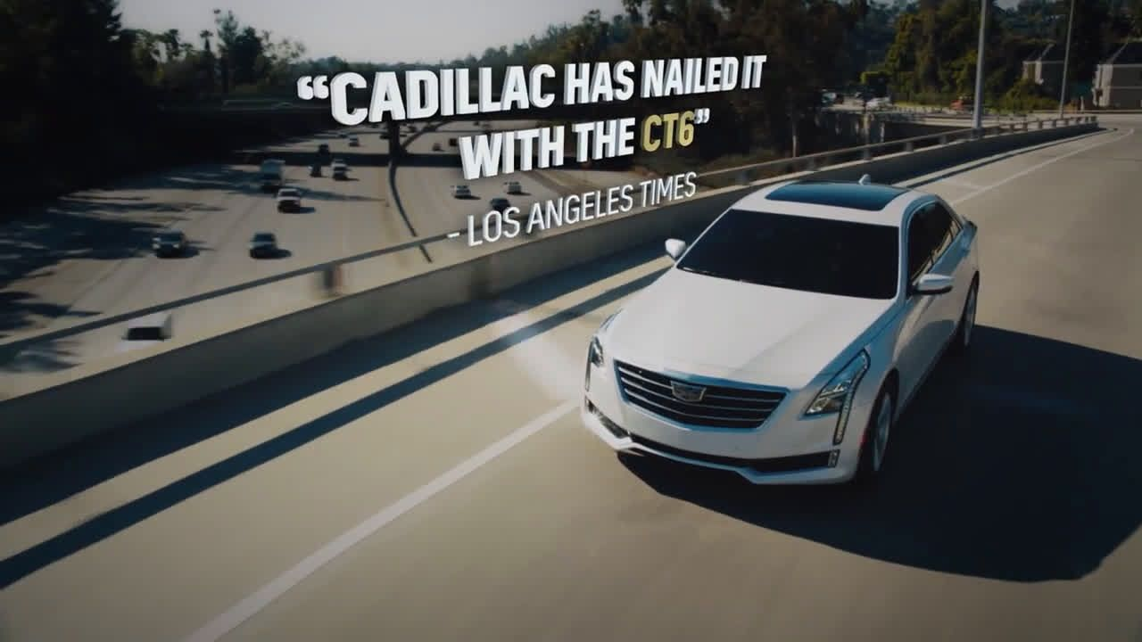Cadillac Ct6 Sound Of Critics Ad Commercial On Tv 2018