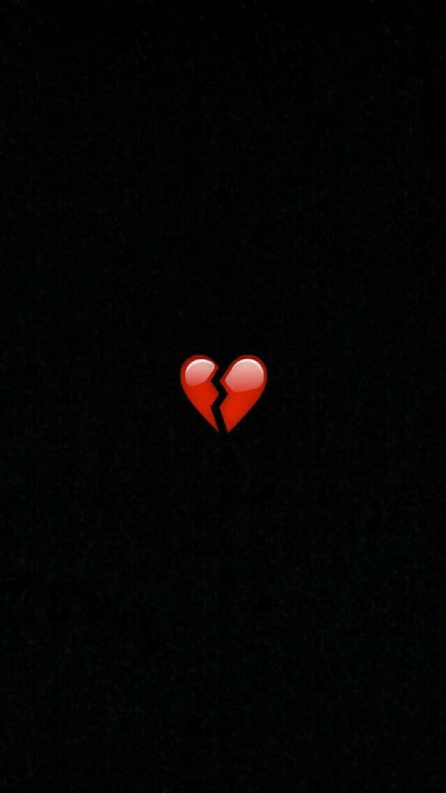 Pin By El Meloso On 3 Wallpaper Iphone Cute Broken Heart Wallpaper Cute Emoji Wallpaper Awesome black broken heart wallpaper