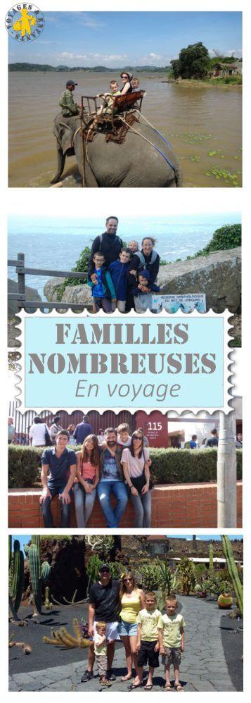 voyage en famille nombreuse heureux astuces voyage avec enfants pinterest voyage. Black Bedroom Furniture Sets. Home Design Ideas