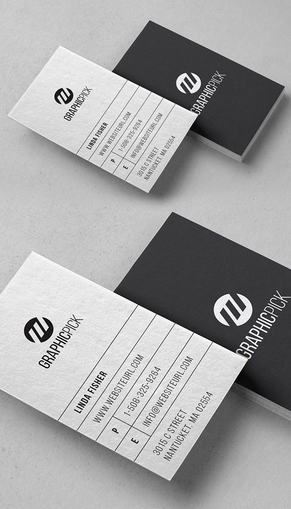 Clean Minimal Photo Business Card #photography #photographer ...