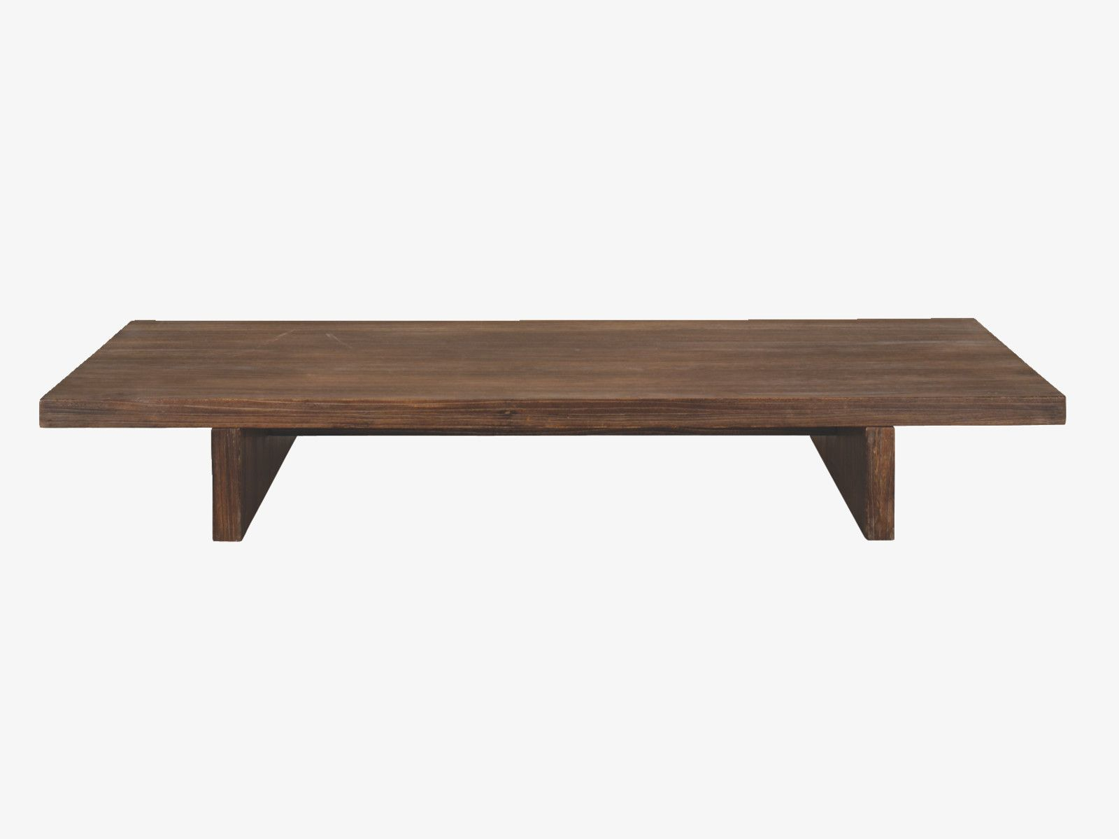 Habitat Palonia low bench can work as daybed Love this wood