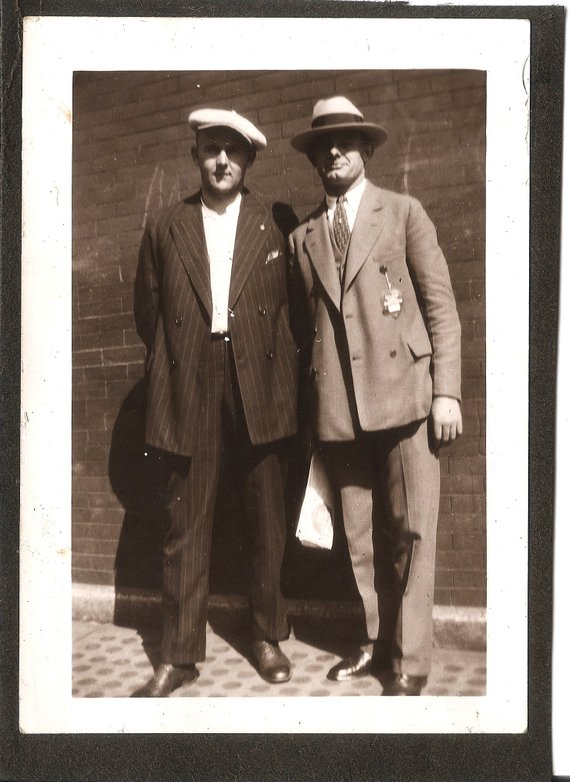 234d87f79aa Vintage Photo - 1920s - Men - Well Dressed - Chicago - Mobster Style -  Gangster Style - Menswear -