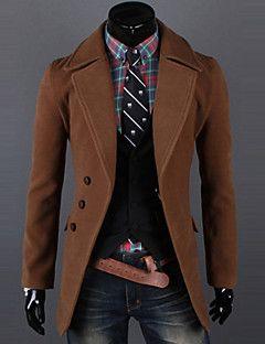 c892129649 Egyszínű Férfi Kabát   Férfi stílusok   Moda masculina, Ropa és ...