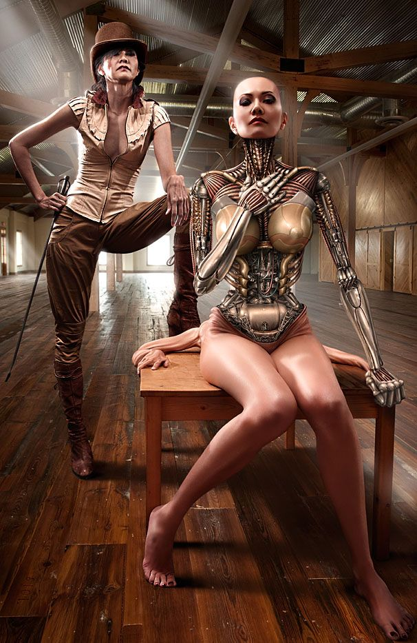 Art cgi cyber erotic fetish