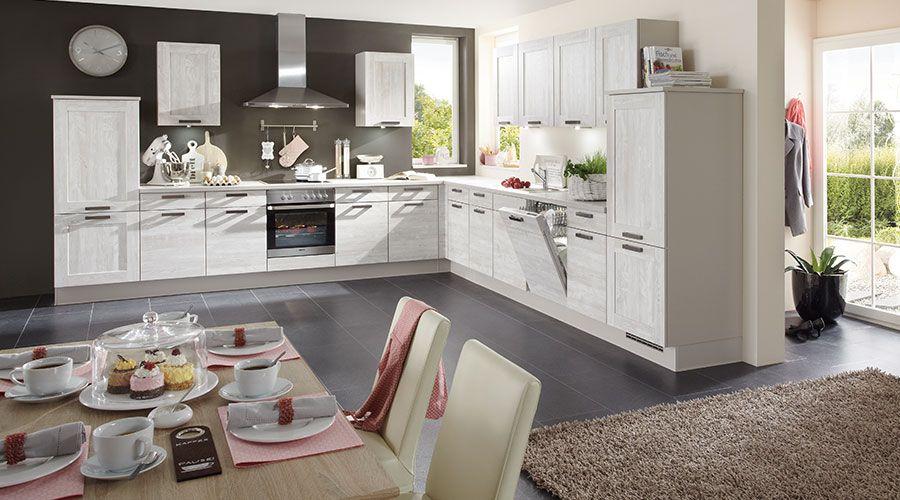 Küchen Kiel fronte in kunststoff nautic pine nachbildung foerde kuechen de