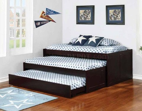Aaron Triple Daybed #14 COA  Diy bunk bed, Kids bedroom