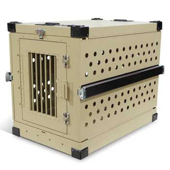 Military Working Dog Crate Collapsible Tan Dog Crate Military Working Dogs Collapsible Dog Crate
