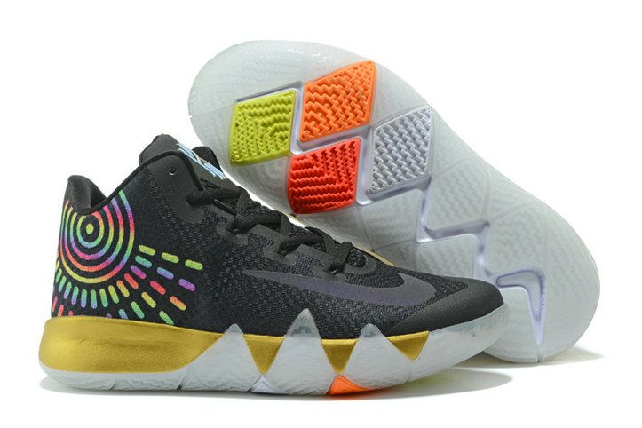 69a7214ca025 Cool Nike Kyrie Irving 4 Kyrie IV Shoe Black Colorful Basketball Shoe For  Cheap