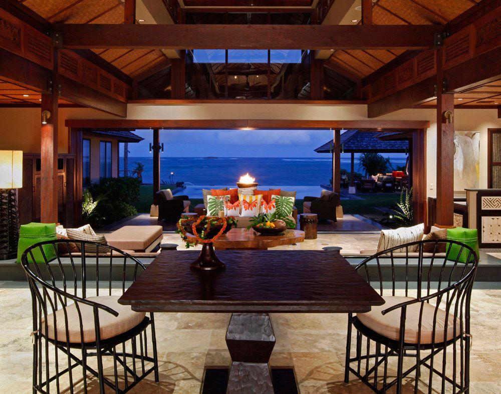 Beach House W Spirit Work Philpotts Interiors Hawaii Interior Design Firm Honolulu San Francisco
