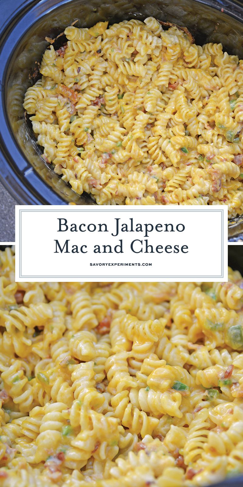 Slow Cooker Jalapeno Bacon Mac And Cheese Is The Best Mac And