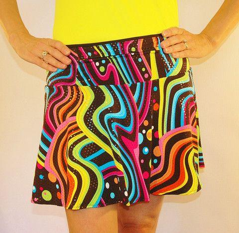 Disco SparkleTech   SparkleTech athletic skirt   SparkleSkirts   SparkleSkirts