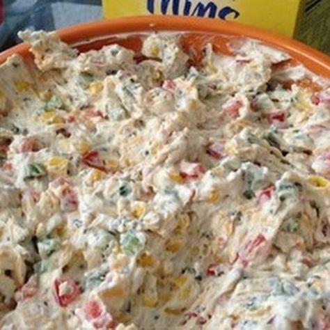 Pool-side Dip Recipe   Recipe   Recipes, Appetizer recipes ...