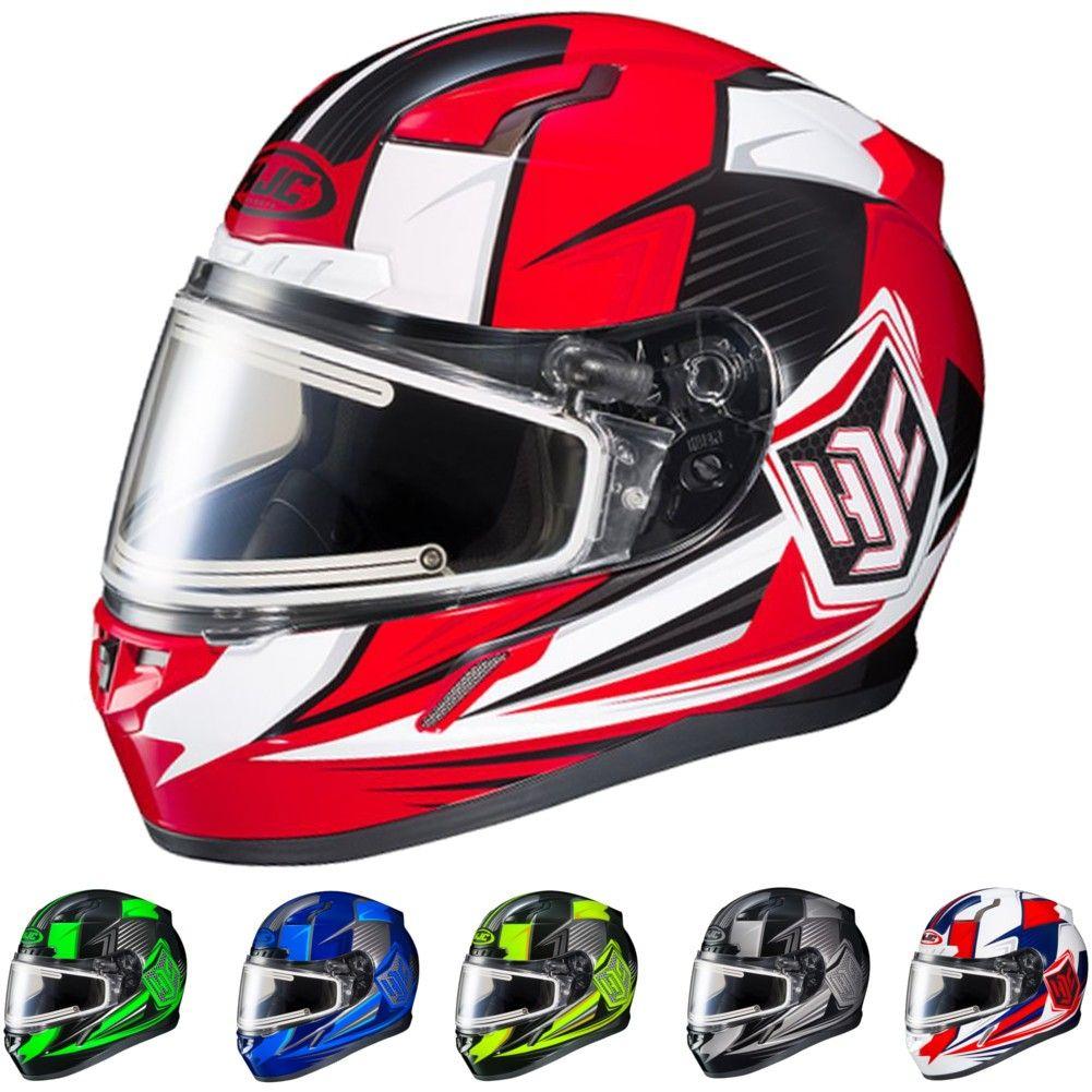 Hjc Cl 17 Striker Electric Shield Snowmobile Helmet Helmet Hockey Helmet Snowmobile Helmets
