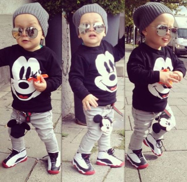 Hearty Disney Mickey Mouse Baby Infant Boys Shoes Newborn Kids 3 4 6 Months Size 2 New The Latest Fashion Boys' Shoes Kids' Clothing, Shoes & Accs
