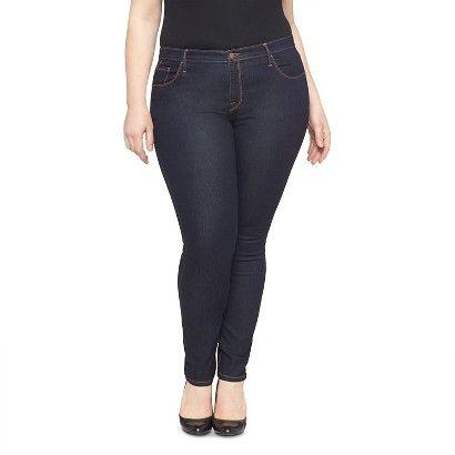 8d67455a725 Women s Plus Size Skinny Jeans - Ava   Viv