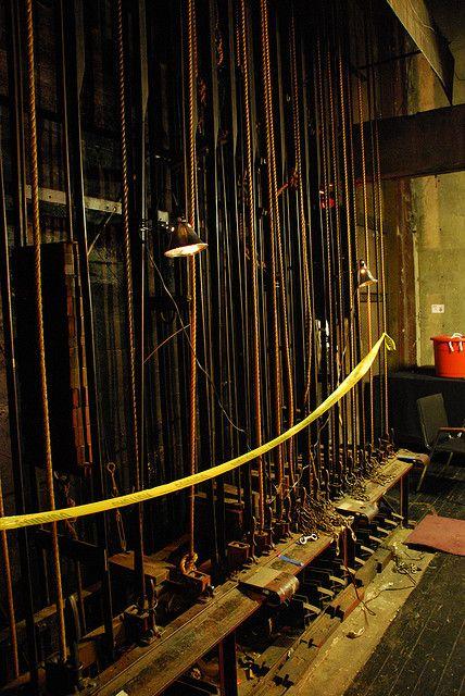 Los Angeles Theatre Backstage | Vignette Lounge | Theatre