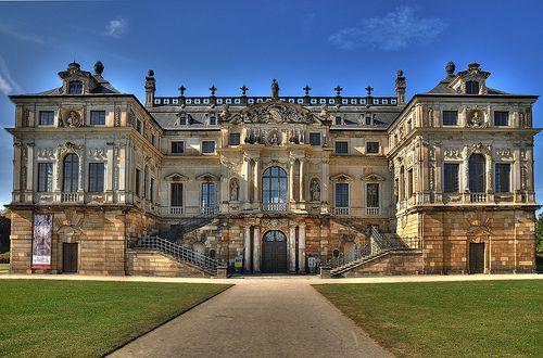 Dresden Palais Grosser Garten German Architecture Mansions Castle