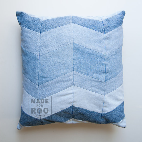 Stanford Pillowcase-Denim Pillow Cover-Decorative