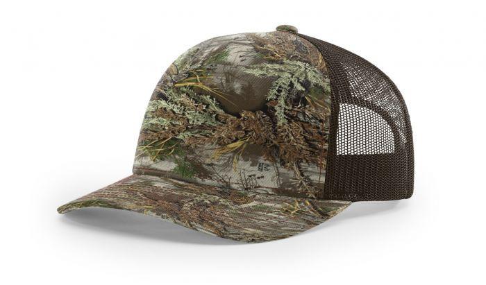 52e5453e 112P Printed Trucker Mesh Adjustable Hat by Richardson Cap | 112P ...