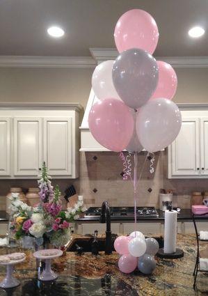 Baby Shower Balloon Decor Baby Baby Pinte