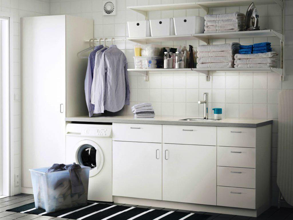 Best Laundry Room Rugs Ruang Cuci Baju Rak Dinding