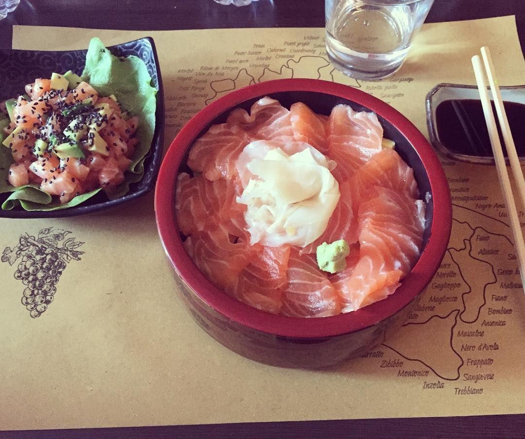 Sushi San - Via Ascanio Sforza 21 #Milan #sushi #topquality #chirashidon #tataki #salmon #avocado #fish #favorite #foodie #foodporn #SushiSan by milladvisor