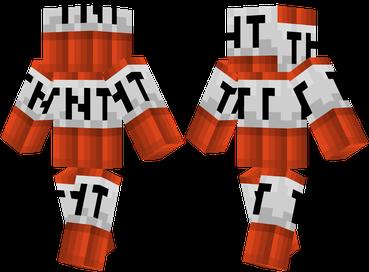 Dynamite Man Minecraft Skins Minecraft Png