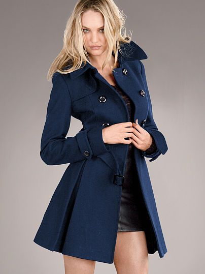 The Wool Trench Coat - Victoria's Secret | Striking Street Style ...