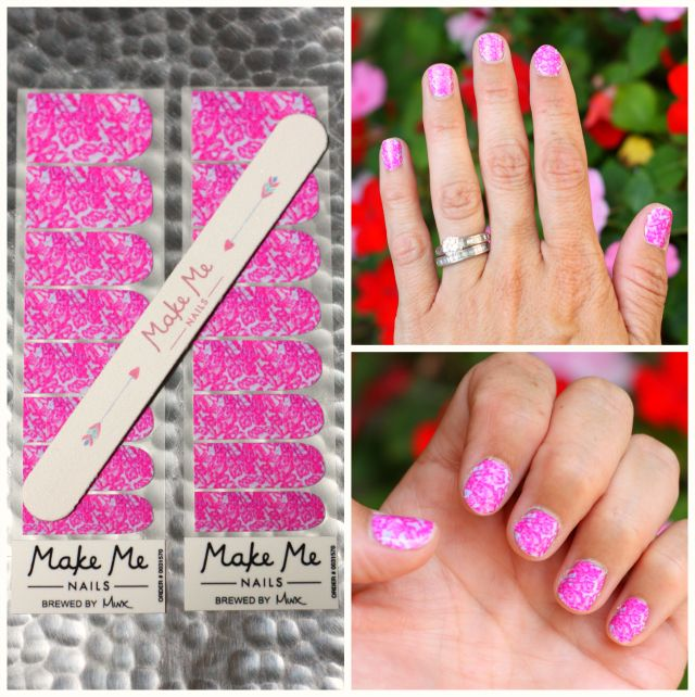 Custom nail wraps by Make Me Nails - Savvy Sassy Moms | Beauty Tools ...