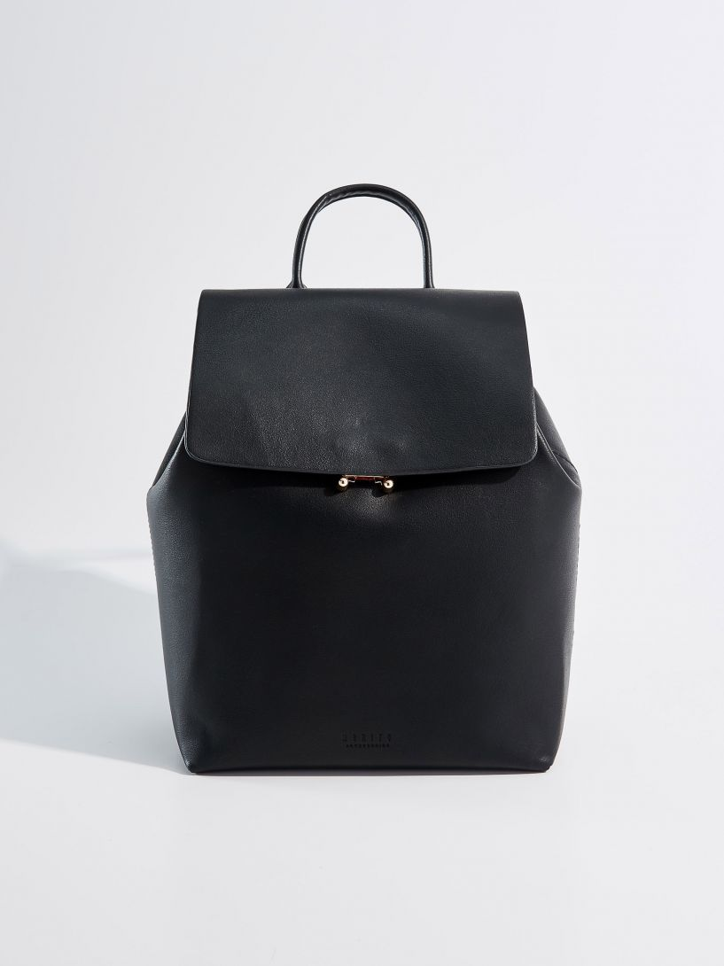 70de11ea7da66 Plecak z uchwytem - czarny - UF010-99X - MOHITO | Fashion ...