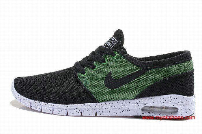irregular Nuevo significado empujar  Womens Nike SB Stefan Janoski Max 'Strike and Destroy' Black/Grass Green |  New nike shoes, Blue shoes, Nike women