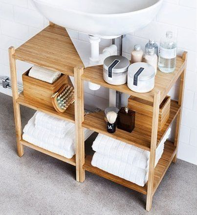 If You Have A Pedestal Sink Or Wall Mount And No Cabinets To Speak Of There Is Still Hope For These RÅgrund Shelves From Ikea Are Designed Fit