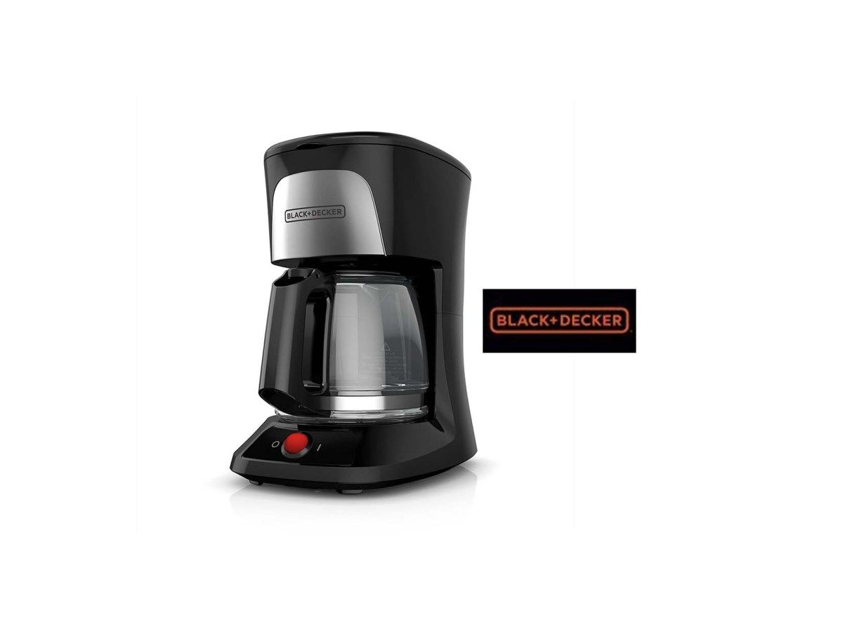 Blackdecker 5cup coffeemaker with duralife glass carafe