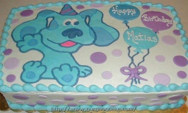 Mehndi Cake Quotes : Blues clues birthday cake template