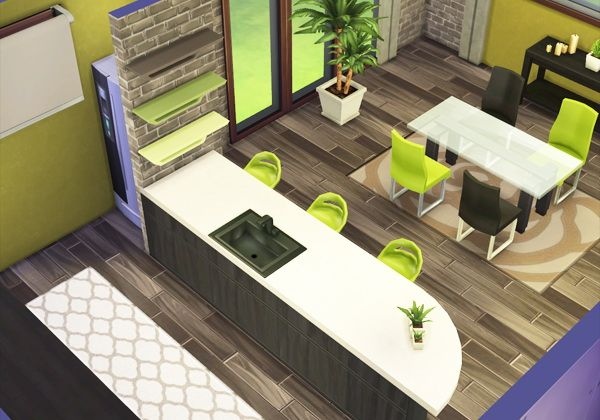 rose dust sim kitchen dining sims 4 downloads sims. Black Bedroom Furniture Sets. Home Design Ideas