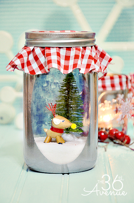 DIY Snow Globe and Accessories | Globe, Christmas gifts and Snow