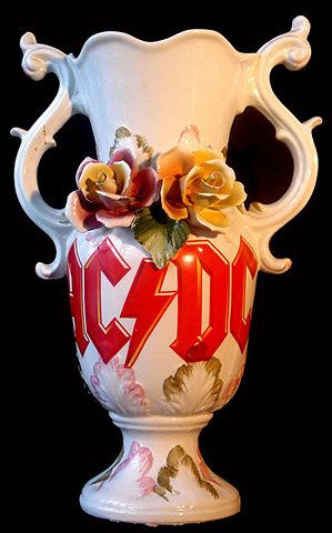 AC DC Vase  (For Tim!)