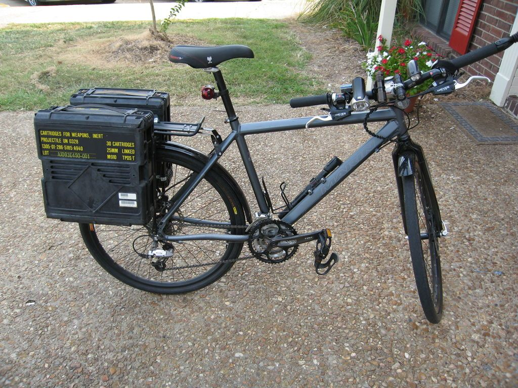 Ammo Boxes For Panniers In 2020 Ammo Box Pannier Bicycle Panniers