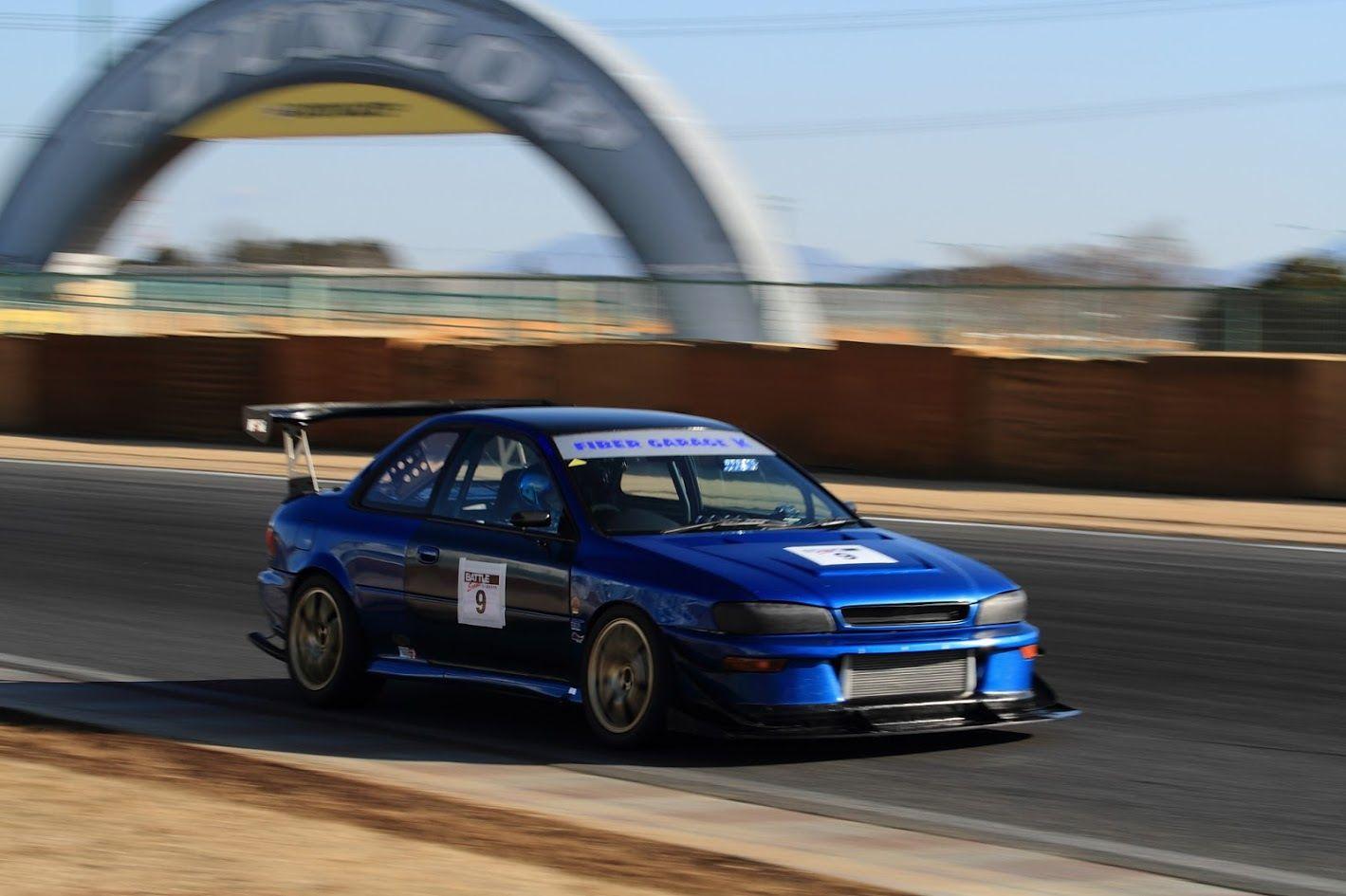 Gokigenja'Simpressive Rally Blue GC8 Impreza