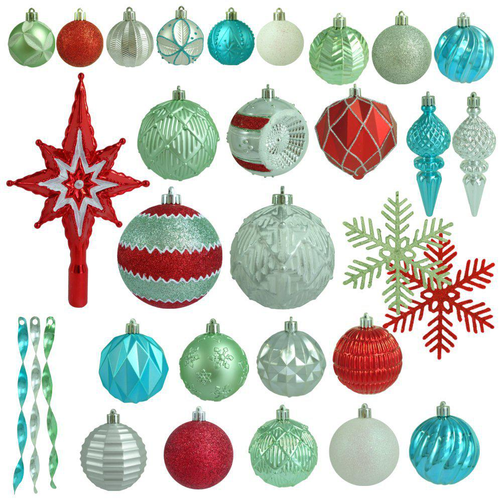 Ornaments Christmas.Martha Stewart Living Christmas Morning Shatter Resistant