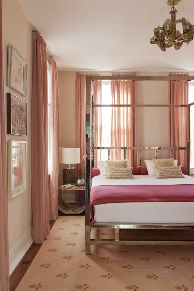 Wandfarbe Altrosa wandfarbe altrosa 21 romantische ideen für ihre wohnung