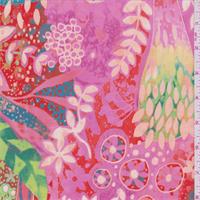 Pink Floral Activewear