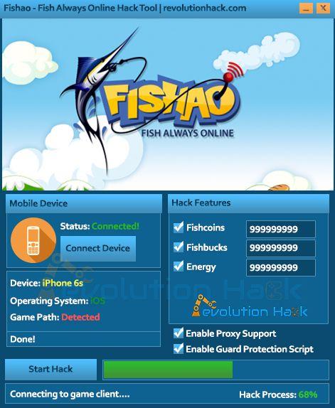 fishao cheat tool