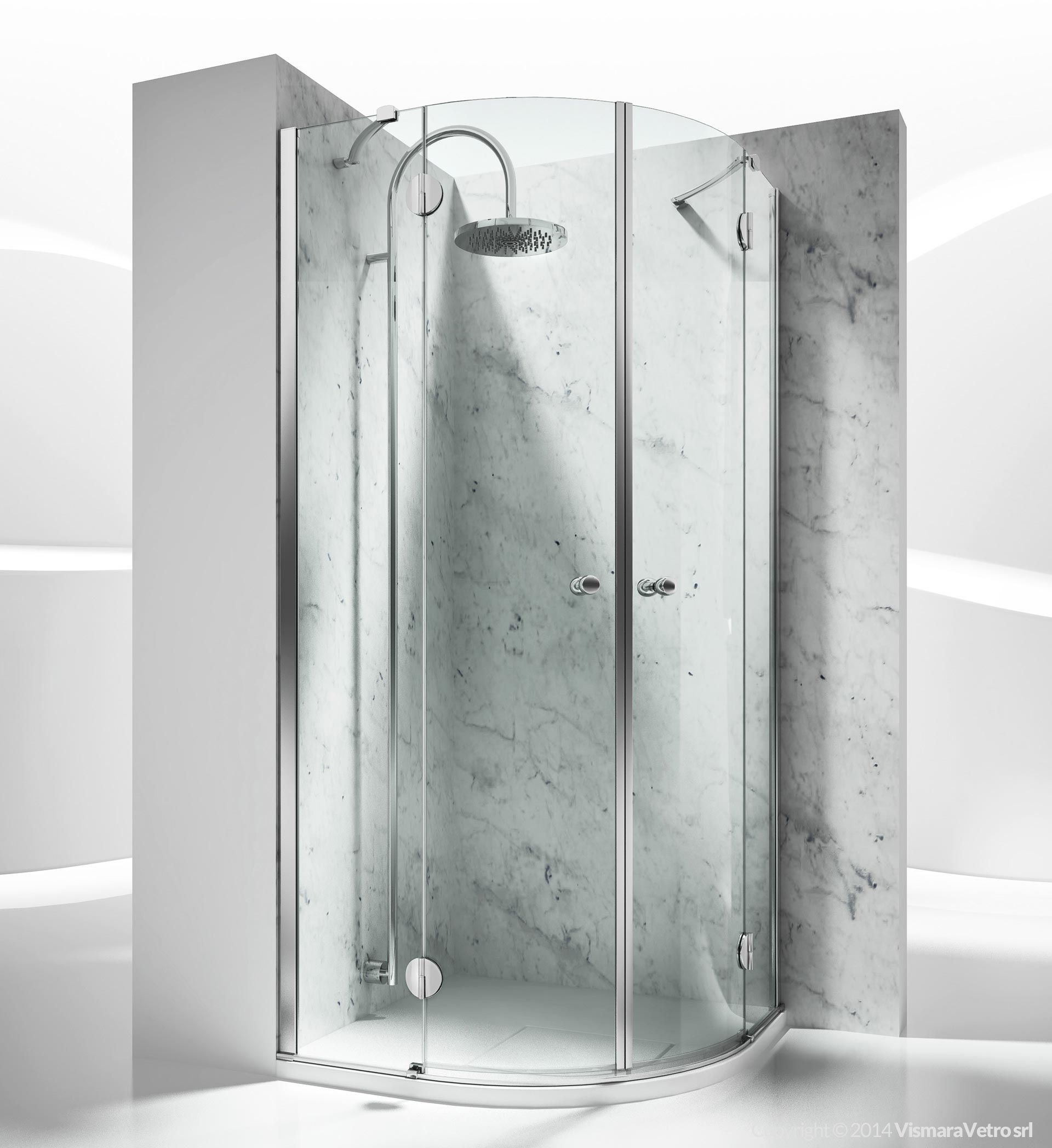 st sintesi shower enclosures models pivot door by