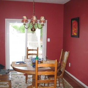 Room · Image Result For Decorating Dining Room With Dark Red Walls
