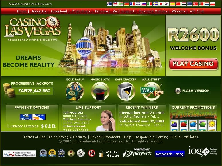 Online Casino Las Vegas Test - Top online casino games