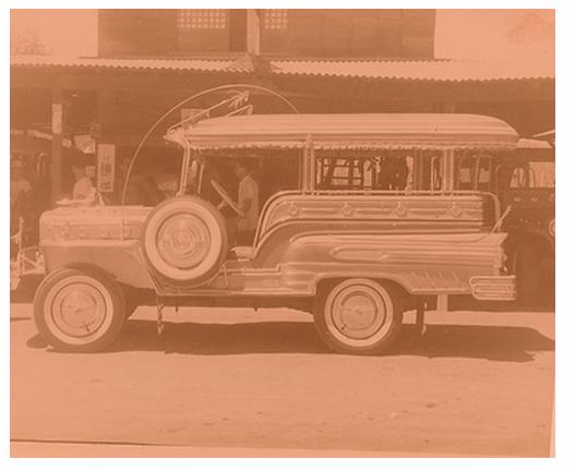 Early Sarao Jeepney Philippines Culture Custom Jeep